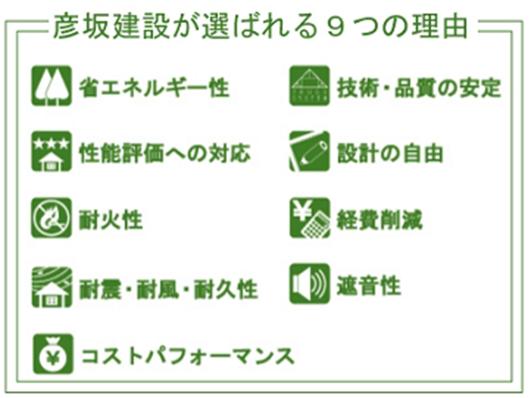 選ばれる9つの理由