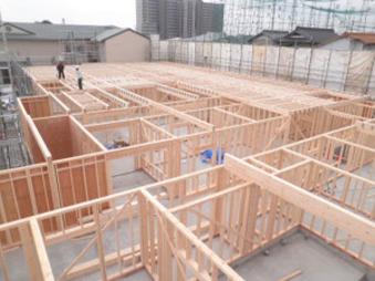 大型福祉施設 2階床施工