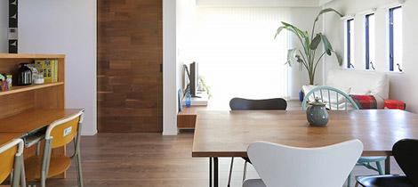 床:耐傷性フローリング 壁:クロス 天井:クロス/木板貼り