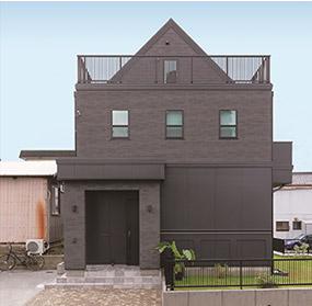 外壁:防火サイディング 屋根:アスファルトシングル