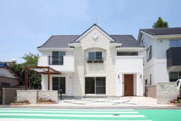さわやかに彩る個性の家