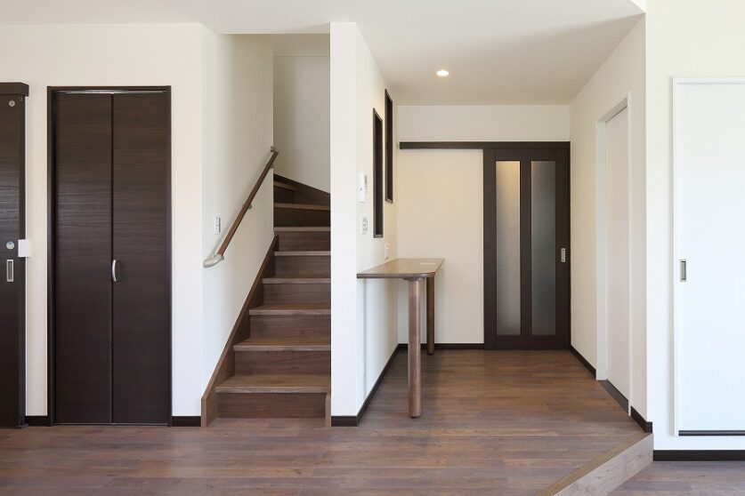 柔らかい空間の家01