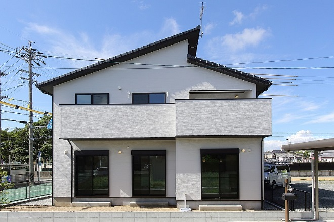 モノトーンの家01