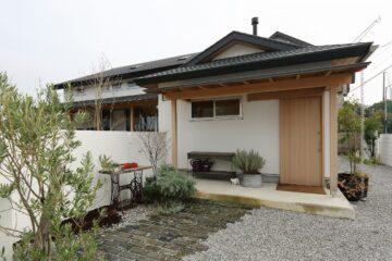 新和風自然素材の家