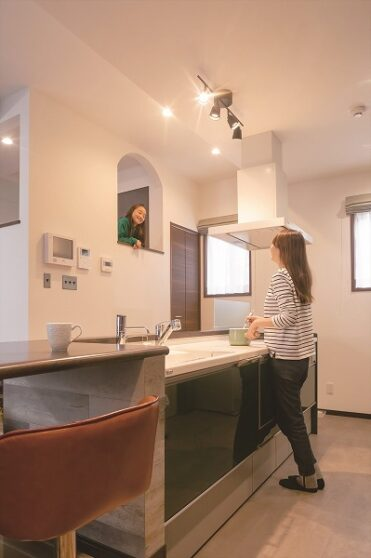 シャビーシックなデザインの家01
