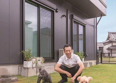 人と愛犬がともに快適に暮らせる家