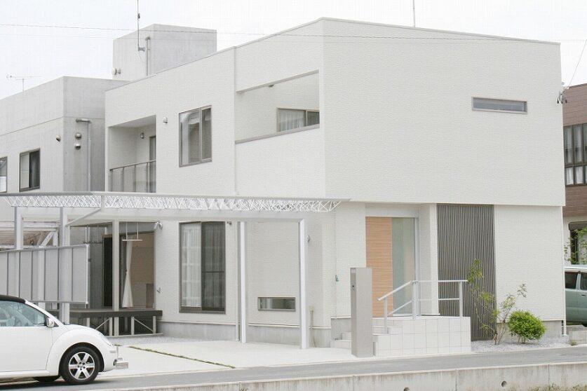 美を追求した白亜の邸宅01