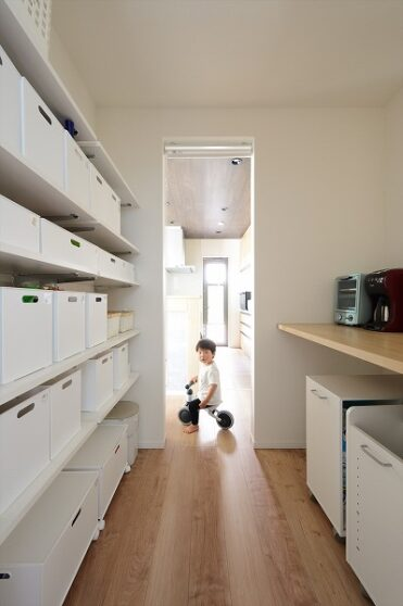 次世代断熱の二世帯住宅01