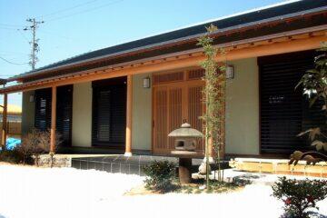 日本の伝統美を受け継ぐ家