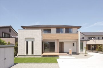 次世代断熱の二世帯住宅